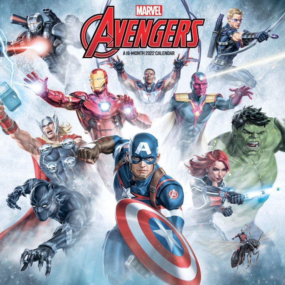 Marvel Avengers 2022 Wall Calendar