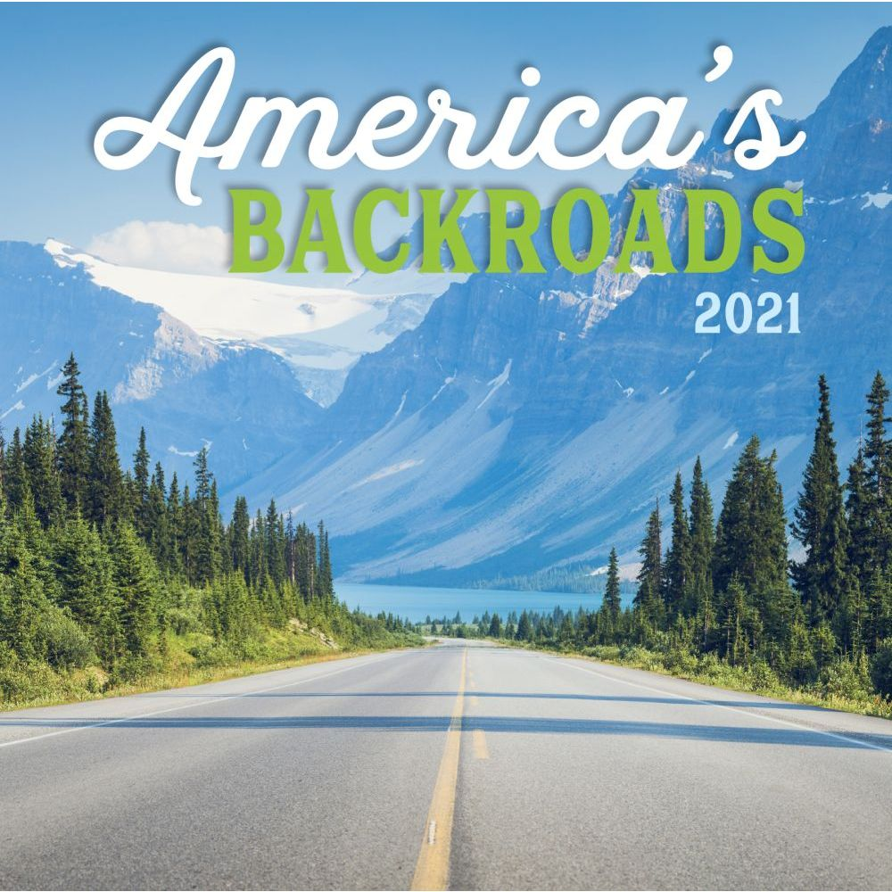 2021 Americas Backroads Mini Wall Calendar