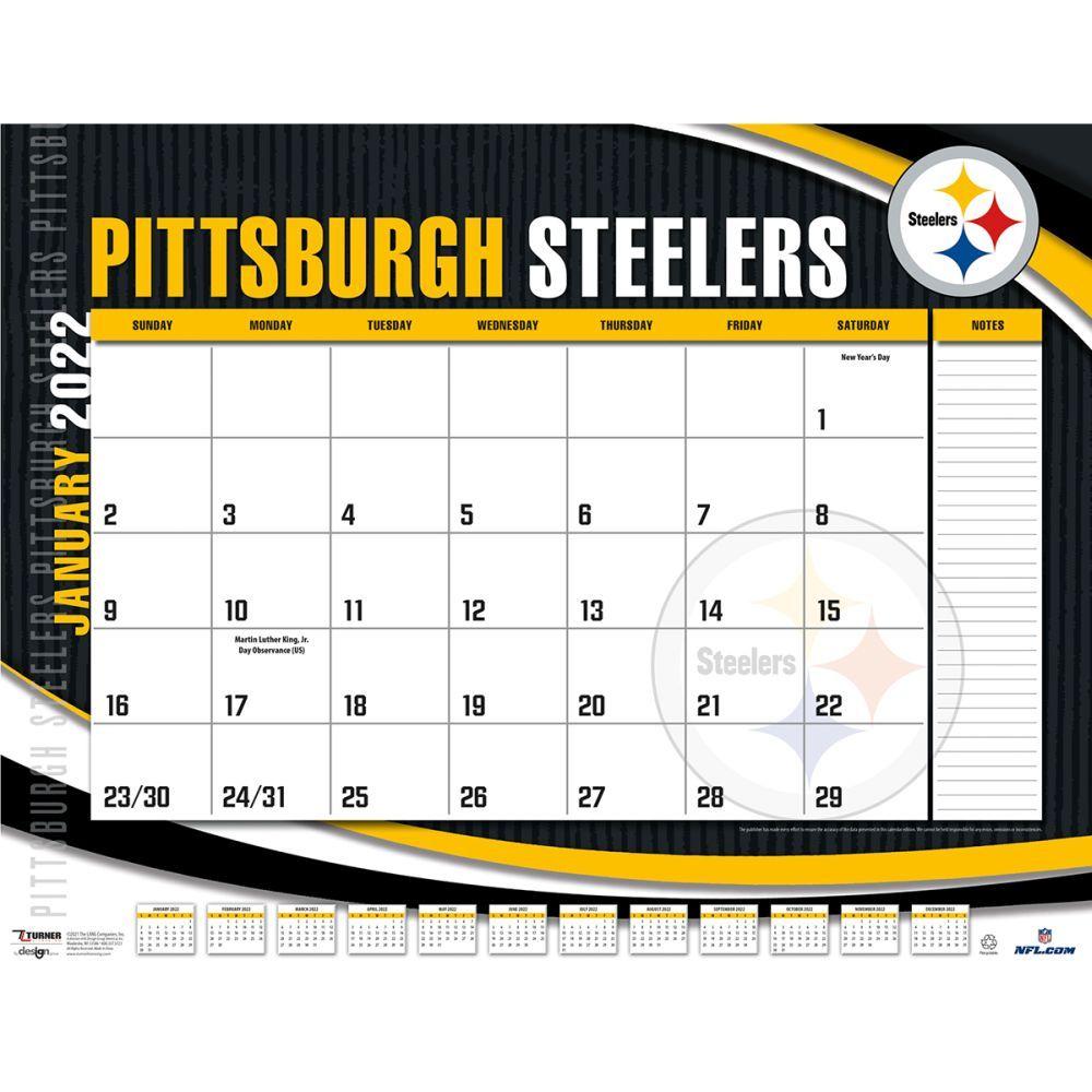 Pittsburgh Steelers 2022 Desk Pad