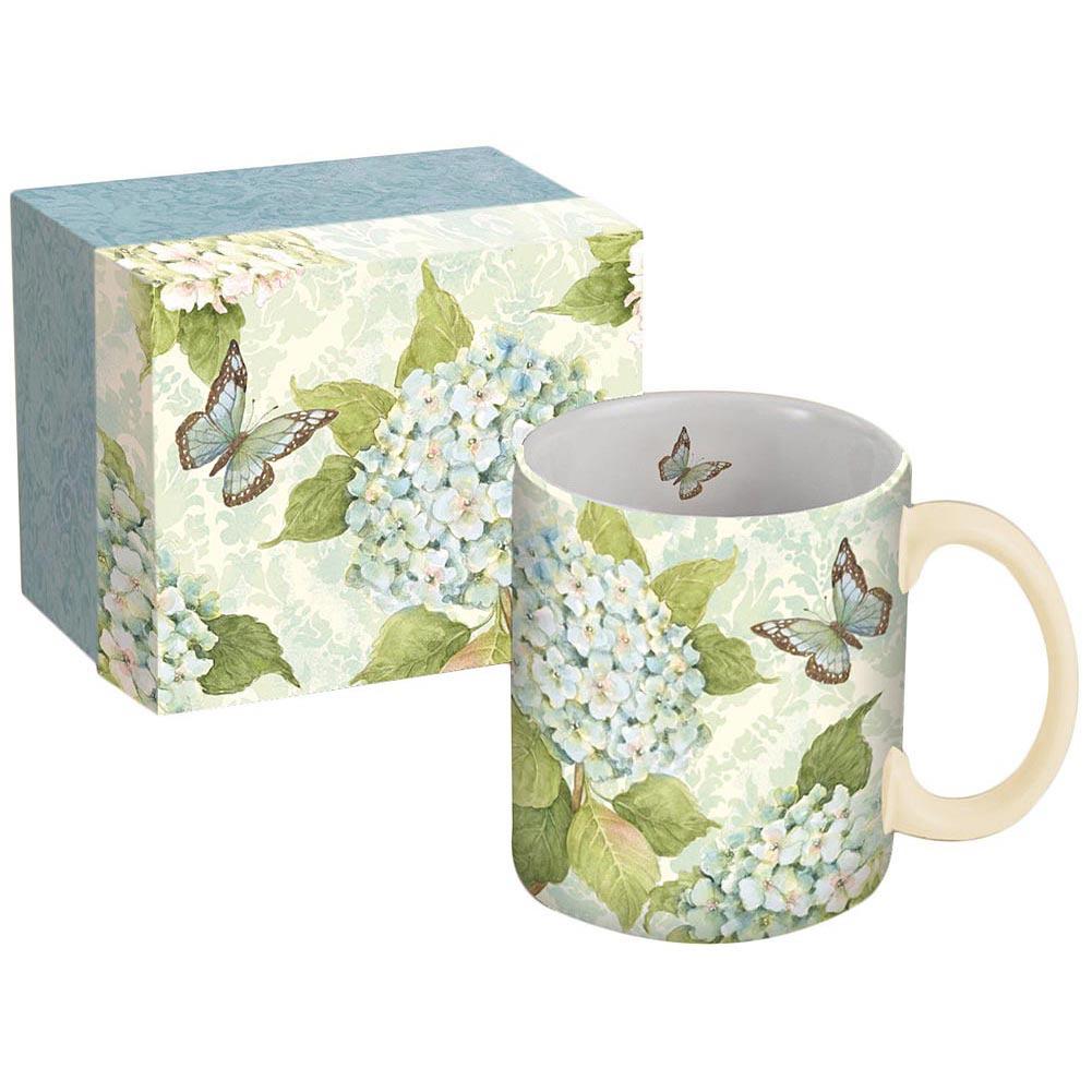 Hydrangea | Coffee | Blue | Mug