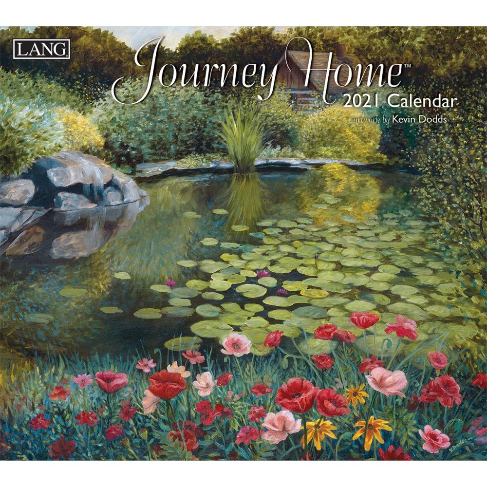 2021 Journey Home Wall Calendar by Kevin Dodds