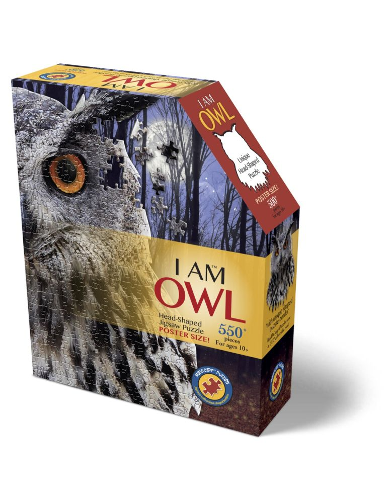 Best I Am Owl 550 Piece Puzzle You Can Buy