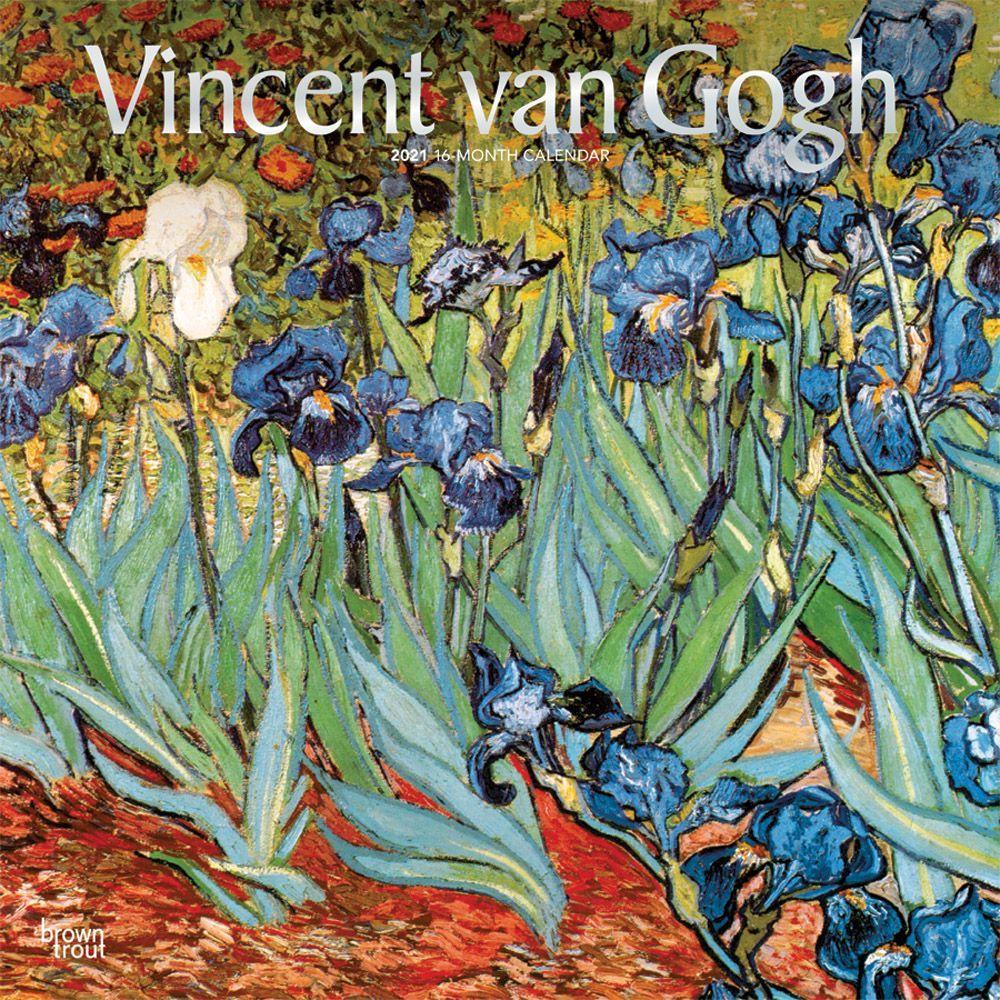 Van Gogh 2021 Wall Calendar