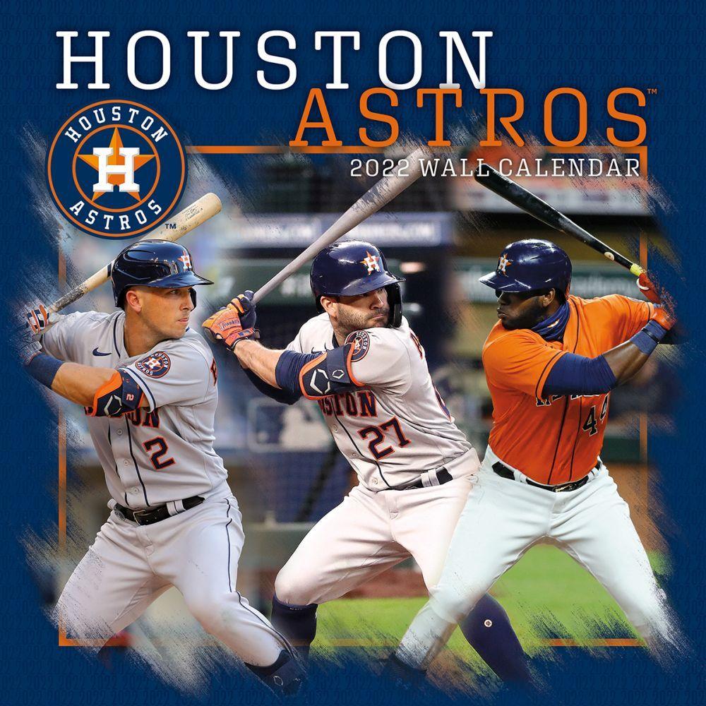 Houston Astros 2022 Wall Calendar