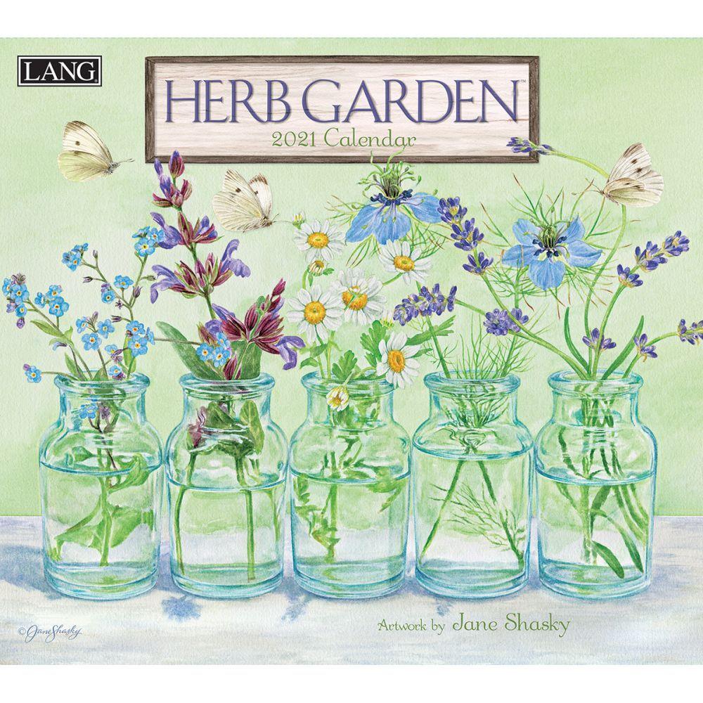 2021 Herb Garden Wall Calendar by Jane Shasky