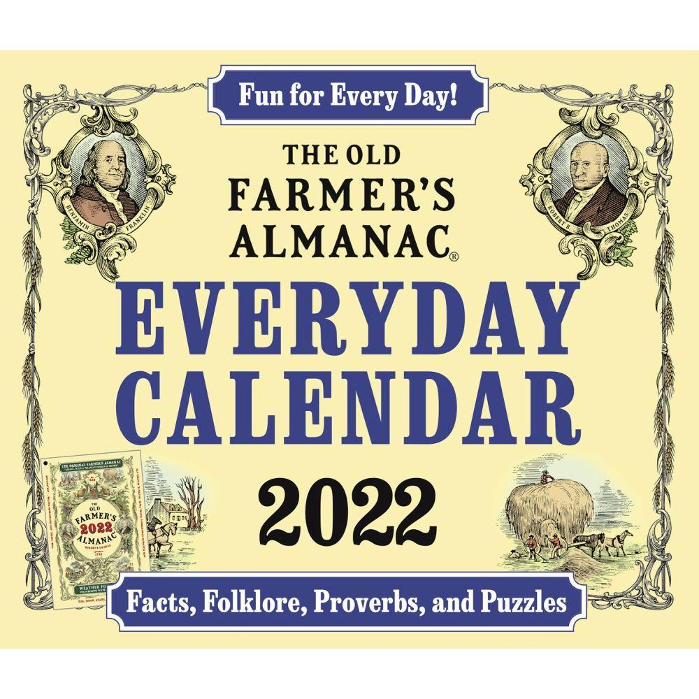 Farmers Almanac 2022 Desk Calendar