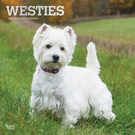 West Highland Terriers Wall Calendar
