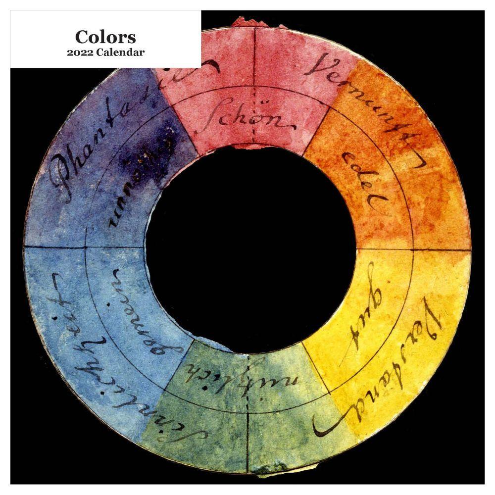 Colors 2022 Wall Calendar