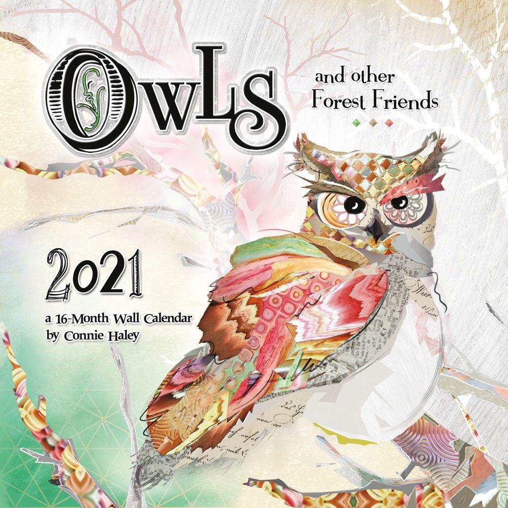 2021 Owls Haley Wall Calendar