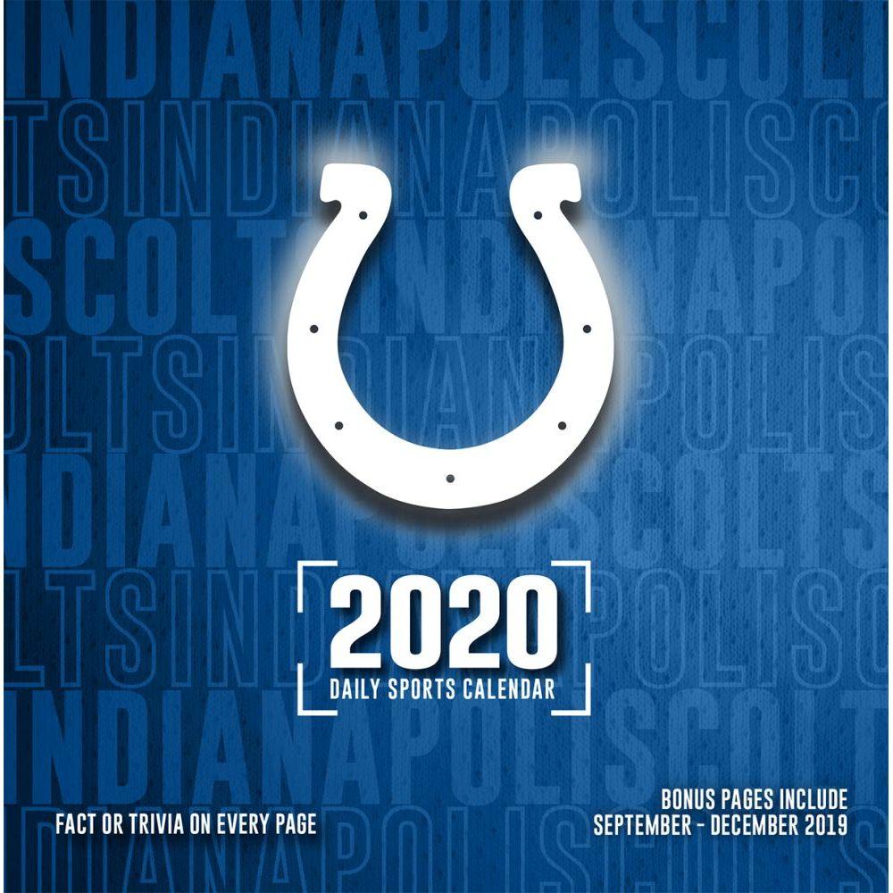 Indianapolis Colts 2021 Desk Calendar