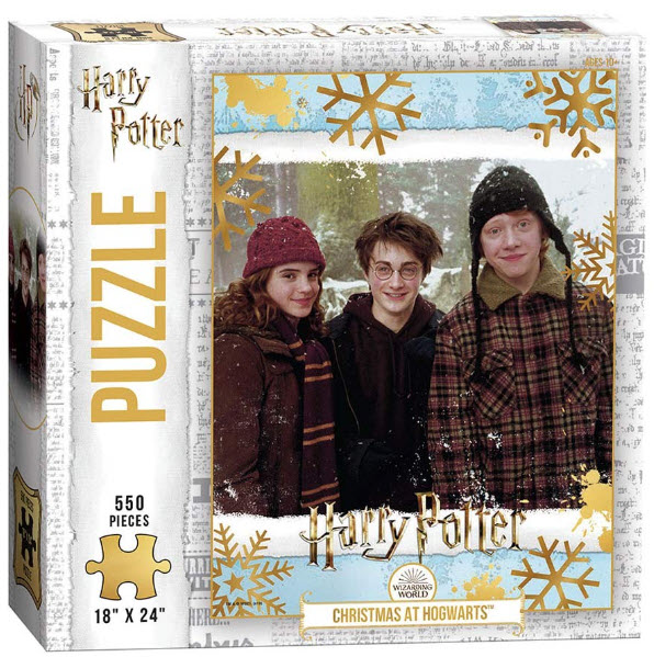 Best Harry Potter Christmas At Hogwarts 550pc Puzzle You Can Buy
