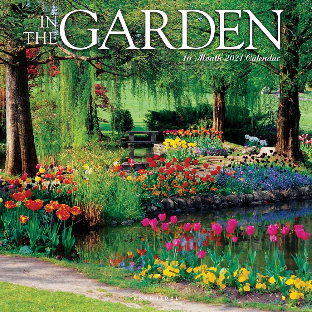 2021 Garden In The Garden Wall Calendar