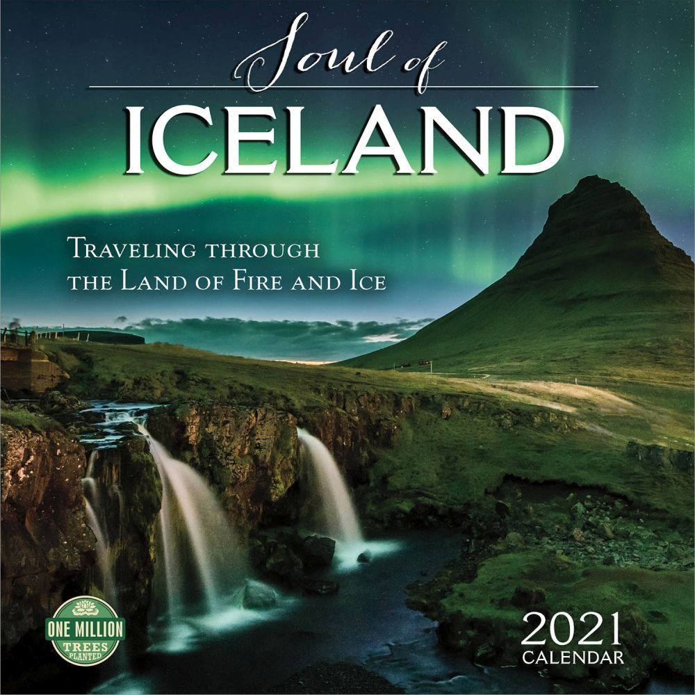 2021 Iceland Soul of the Wall Calendar
