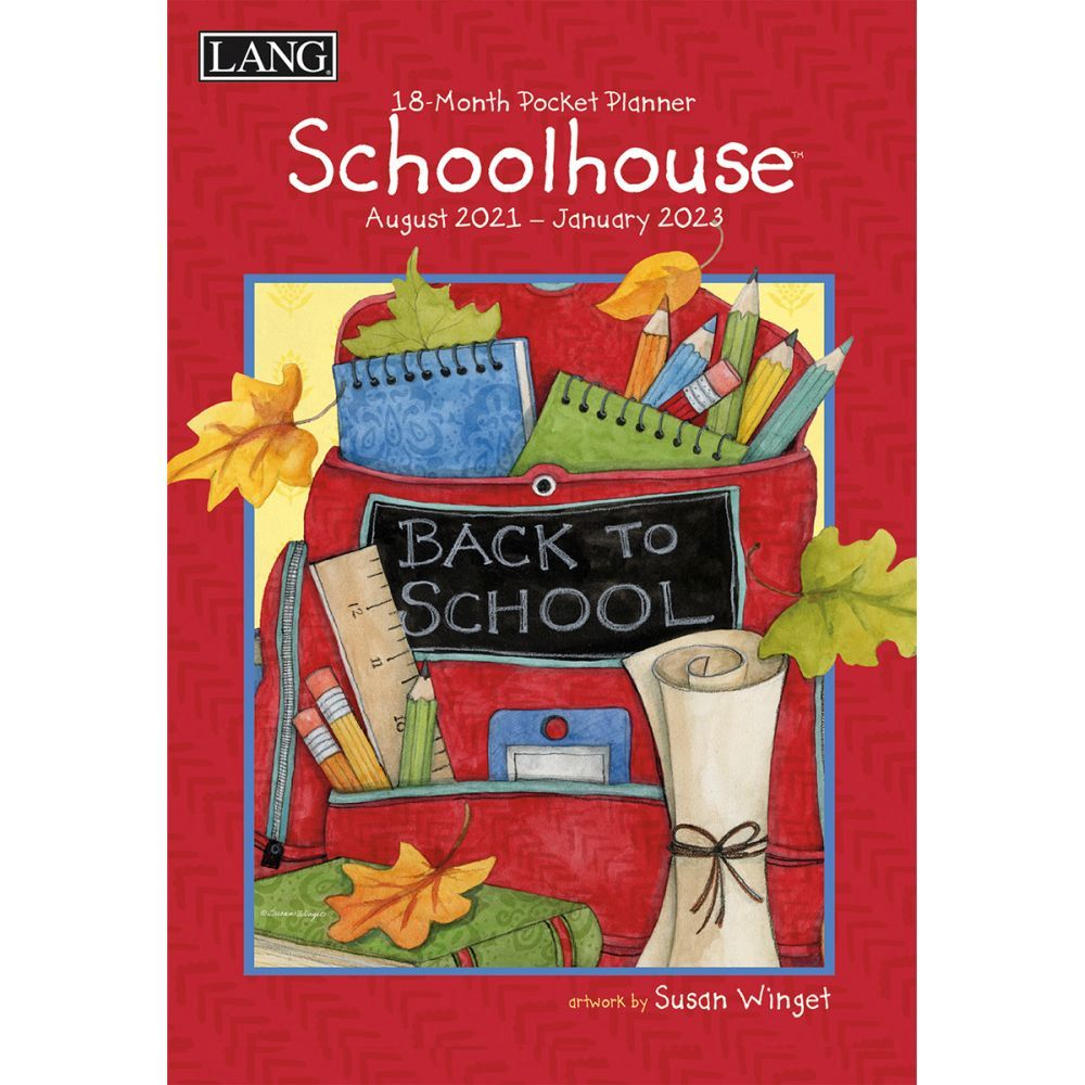 Schoolhouse Monthly 2022 Pocket Planner