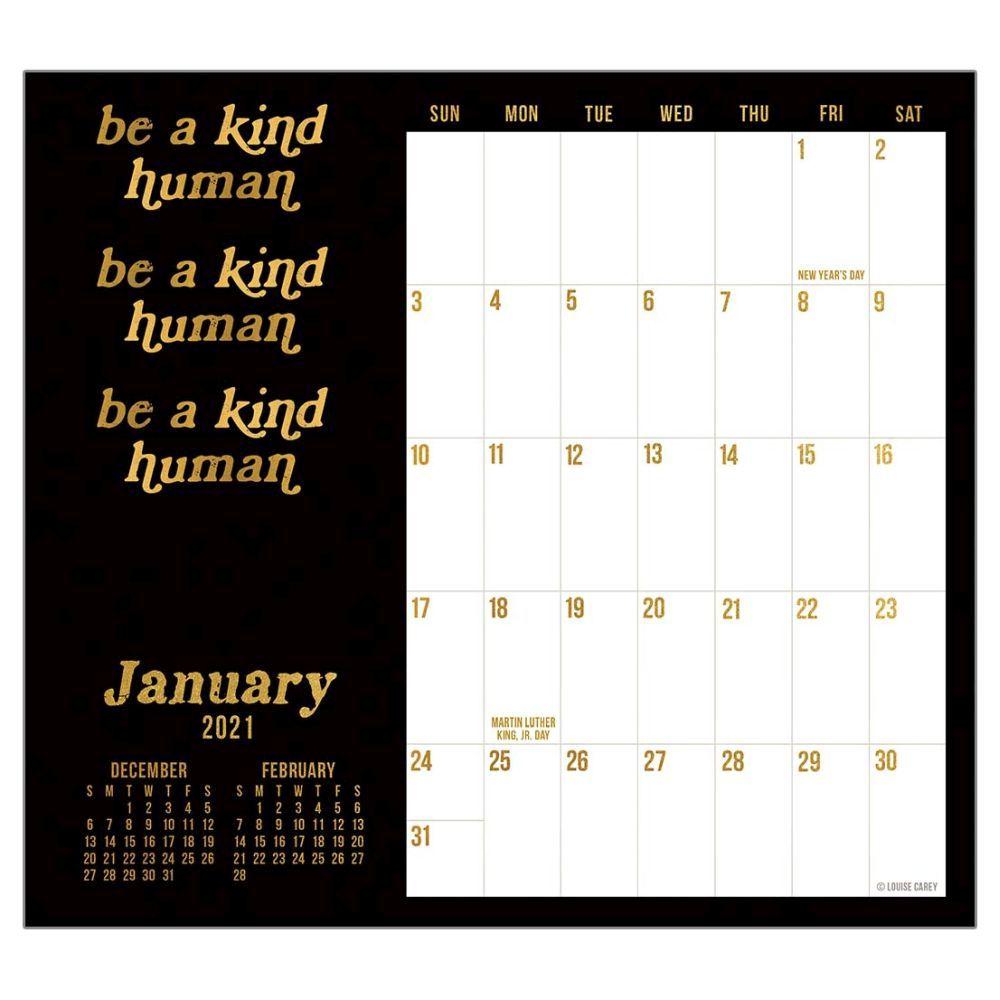 2021 Live Laugh Love Magnetic Calendar