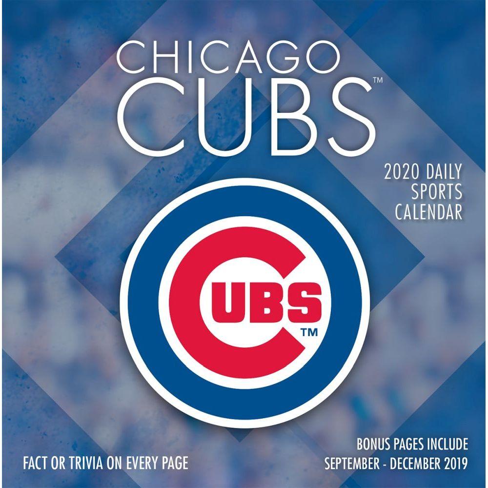 Chicago Cubs 2021 Desk Calendar