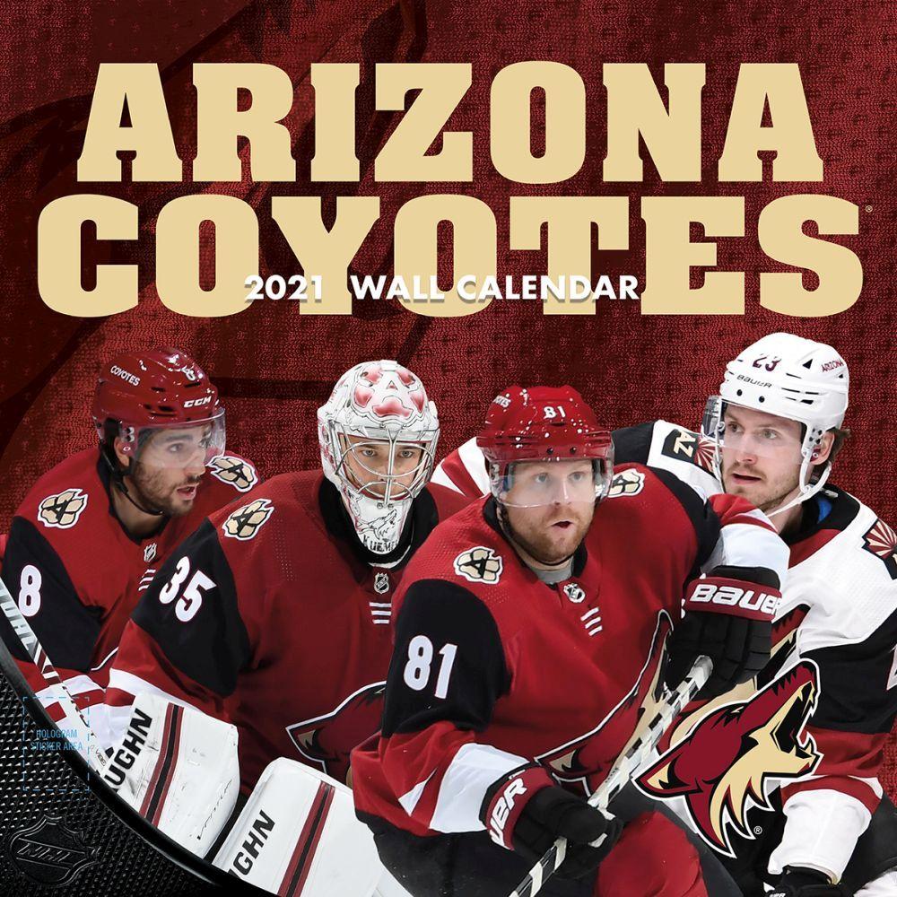 2021 NHL Arizona Coyotes Wall Calendar
