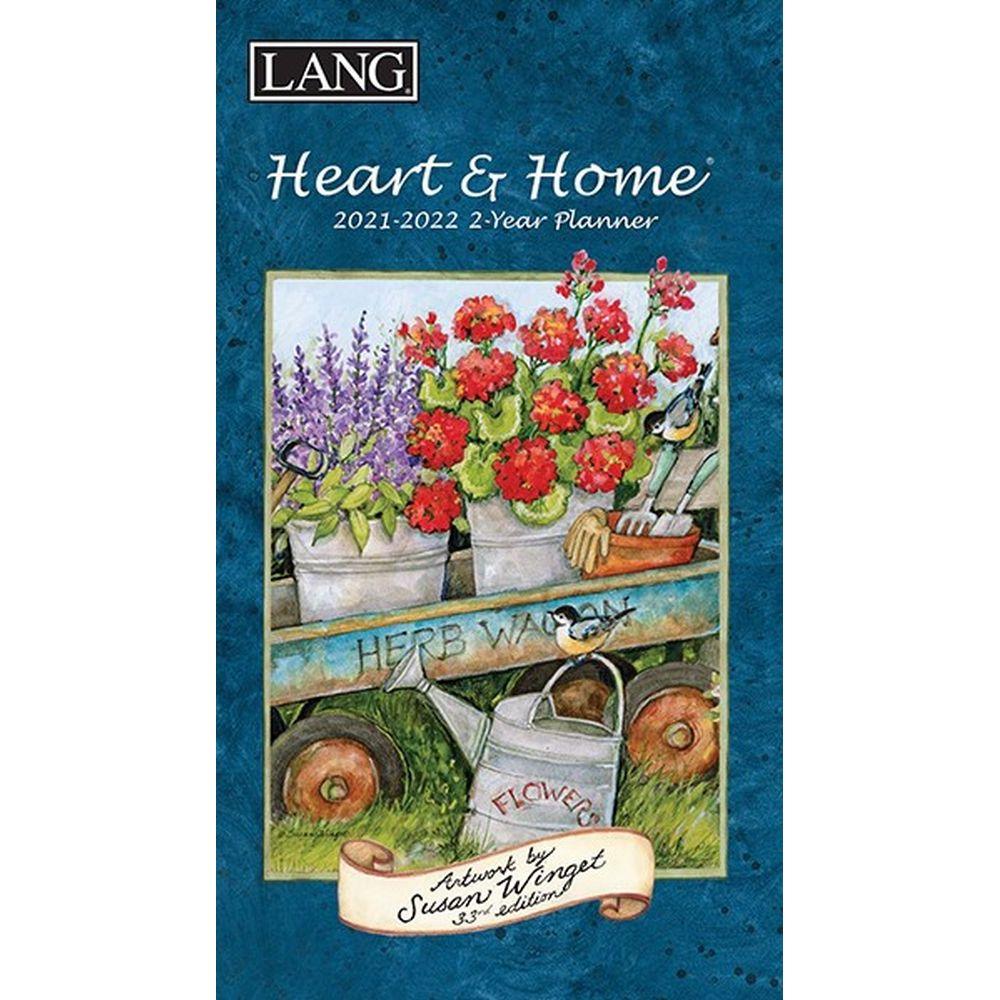 Susan Winget Heart & Home 2021 Monthly Planner