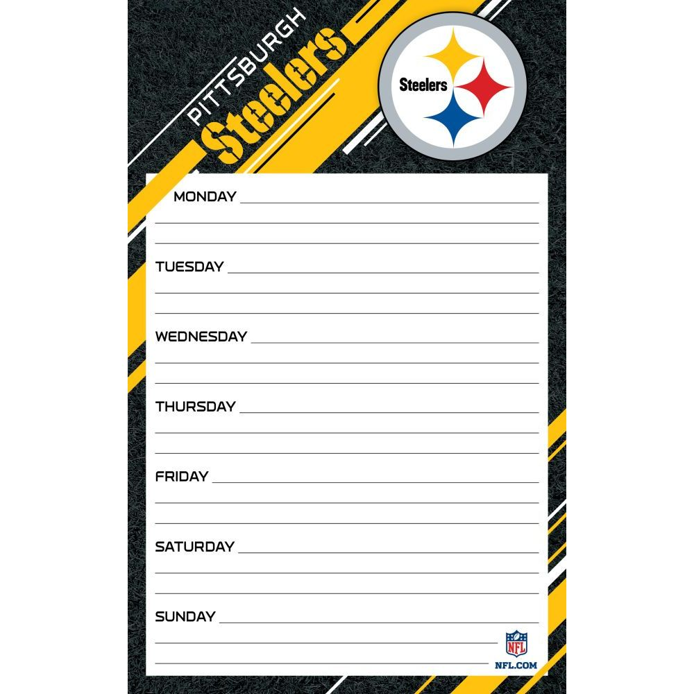 Pittsburgh-Steelers-Jumbo-Weekly-Planner-1