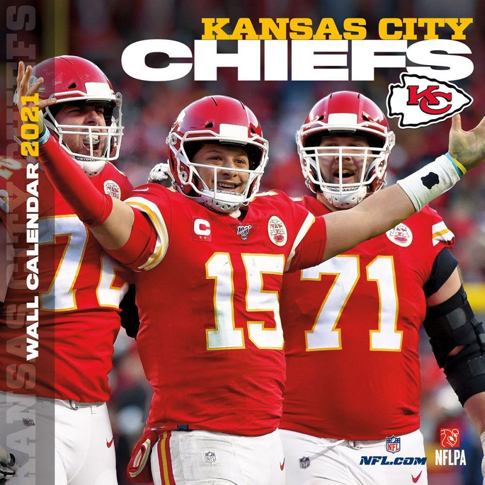 Kansas City Chiefs 2021 Wall Calendar