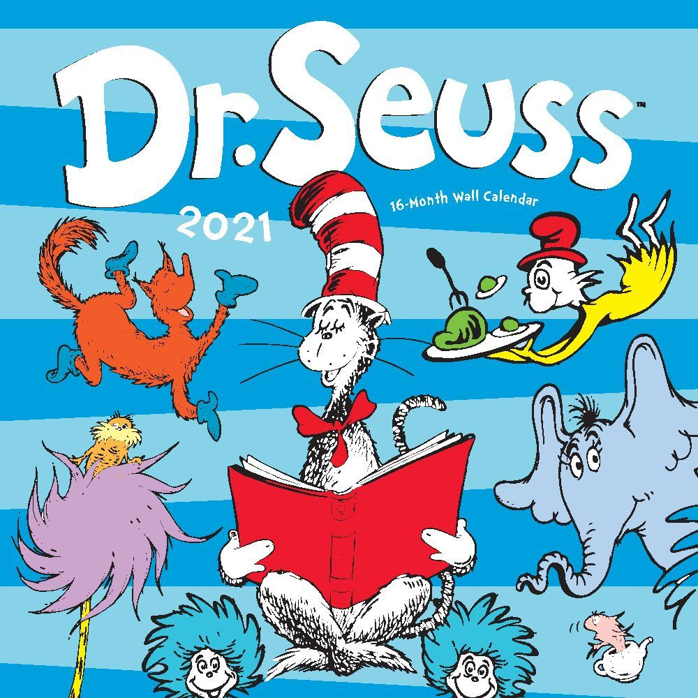 2021 Dr. Seuss Wall Calendar
