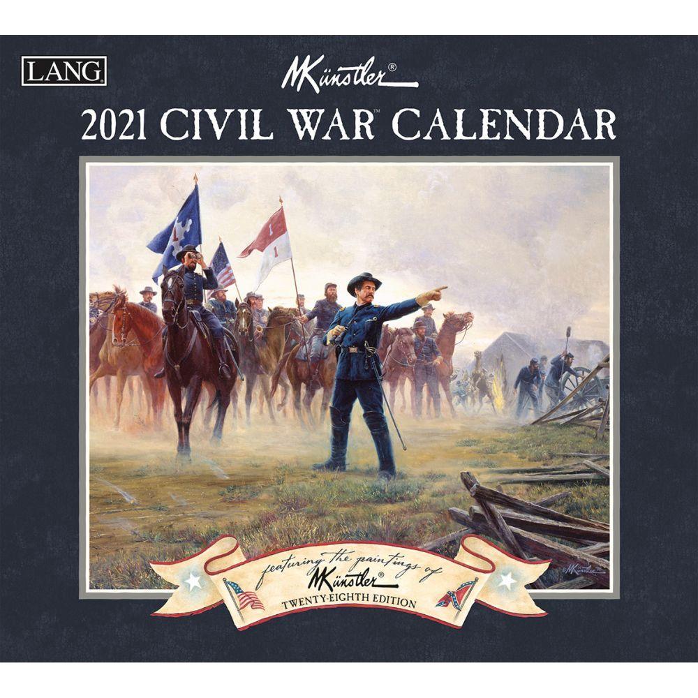2021 Civil War Wall Calendar by Mort Kunstler