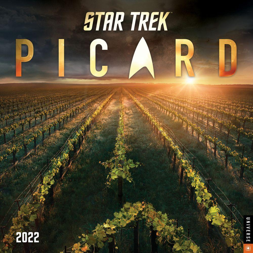 Star Trek Picard 2022 Wall Calendar