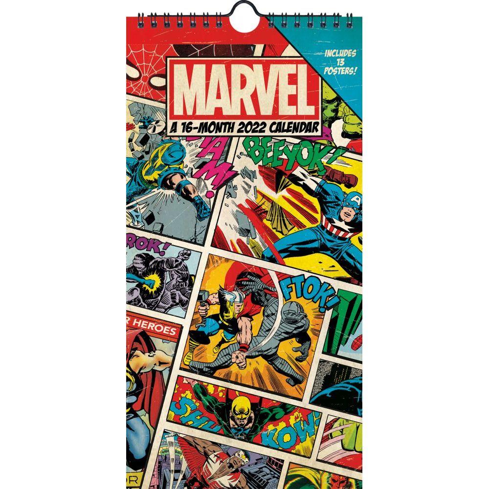Marvel Comics 2022 Mini Poster Calendar