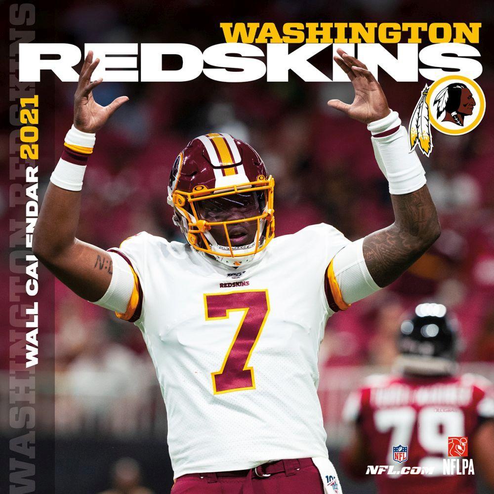 Washington Redskins 2021 Wall Calendar