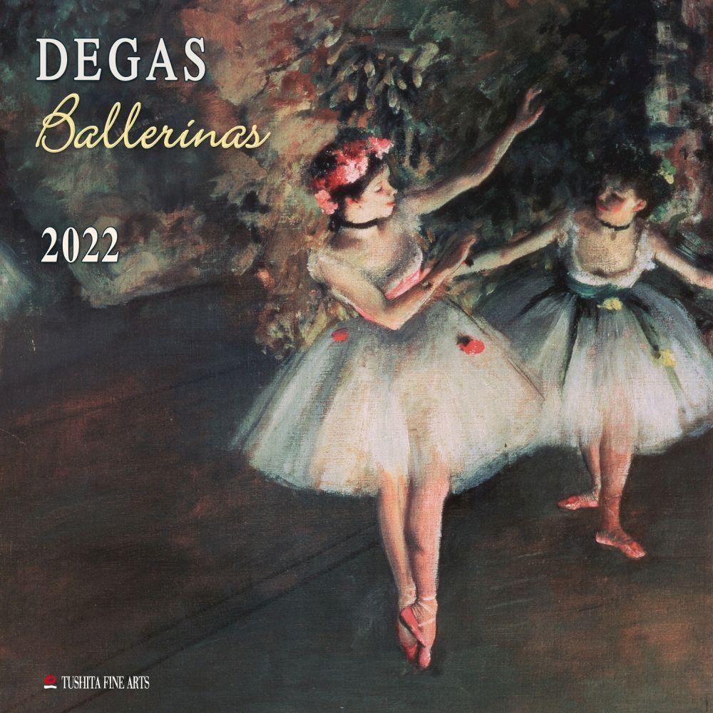 Degas' Ballerinas 2022 Wall Calendar