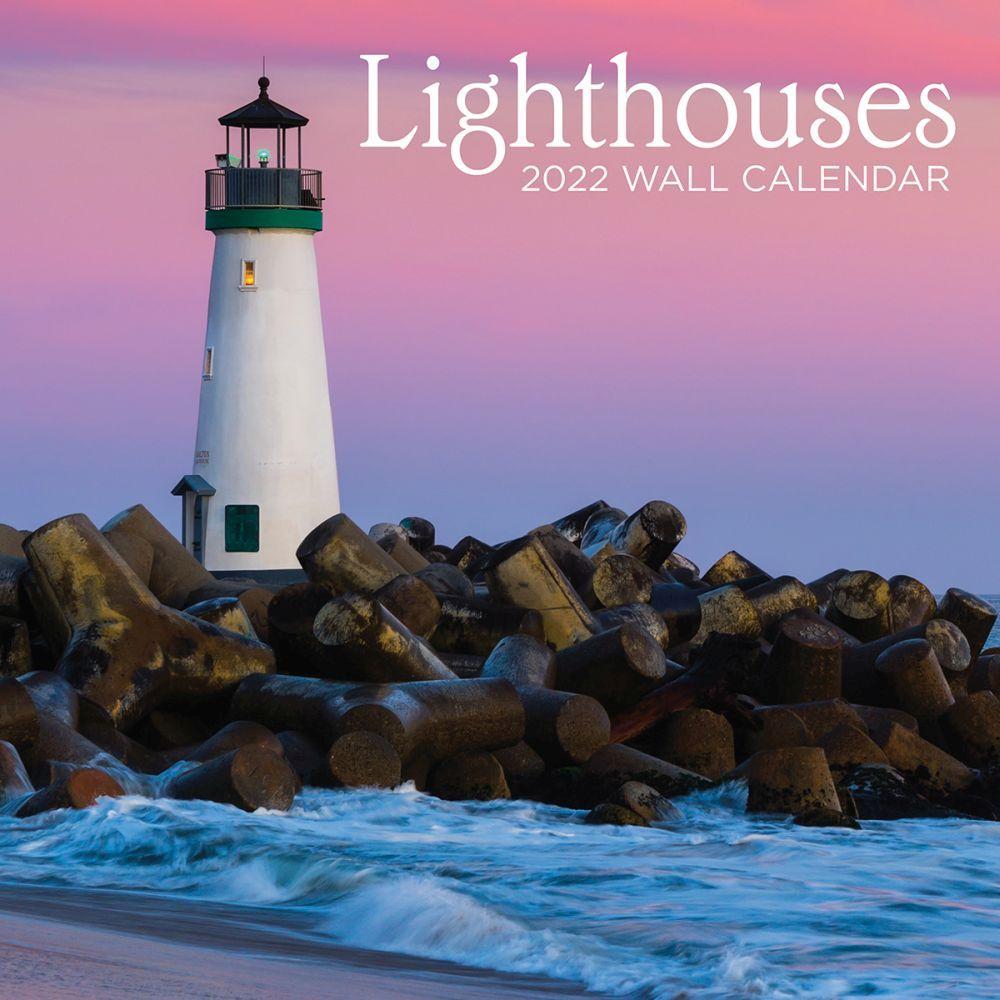 Lighthouses 2022 Wall Calendar