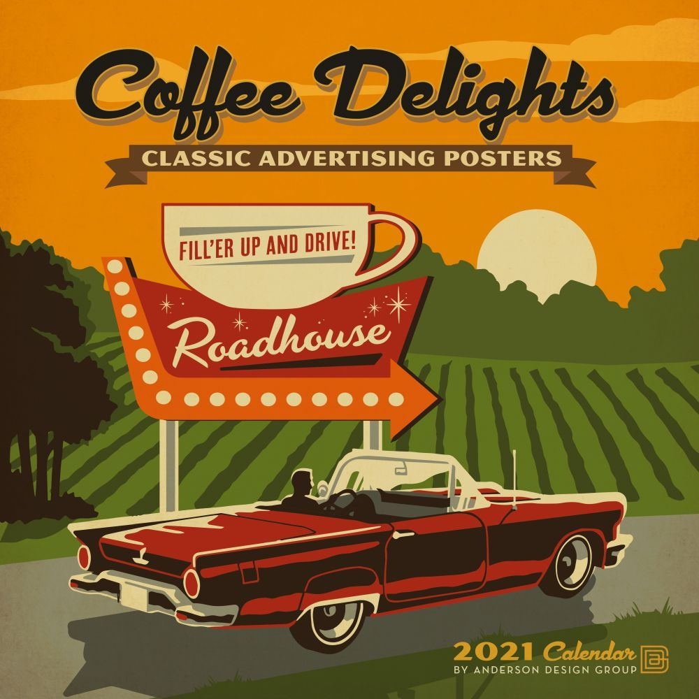 2021 Coffee Delights Wall Calendar
