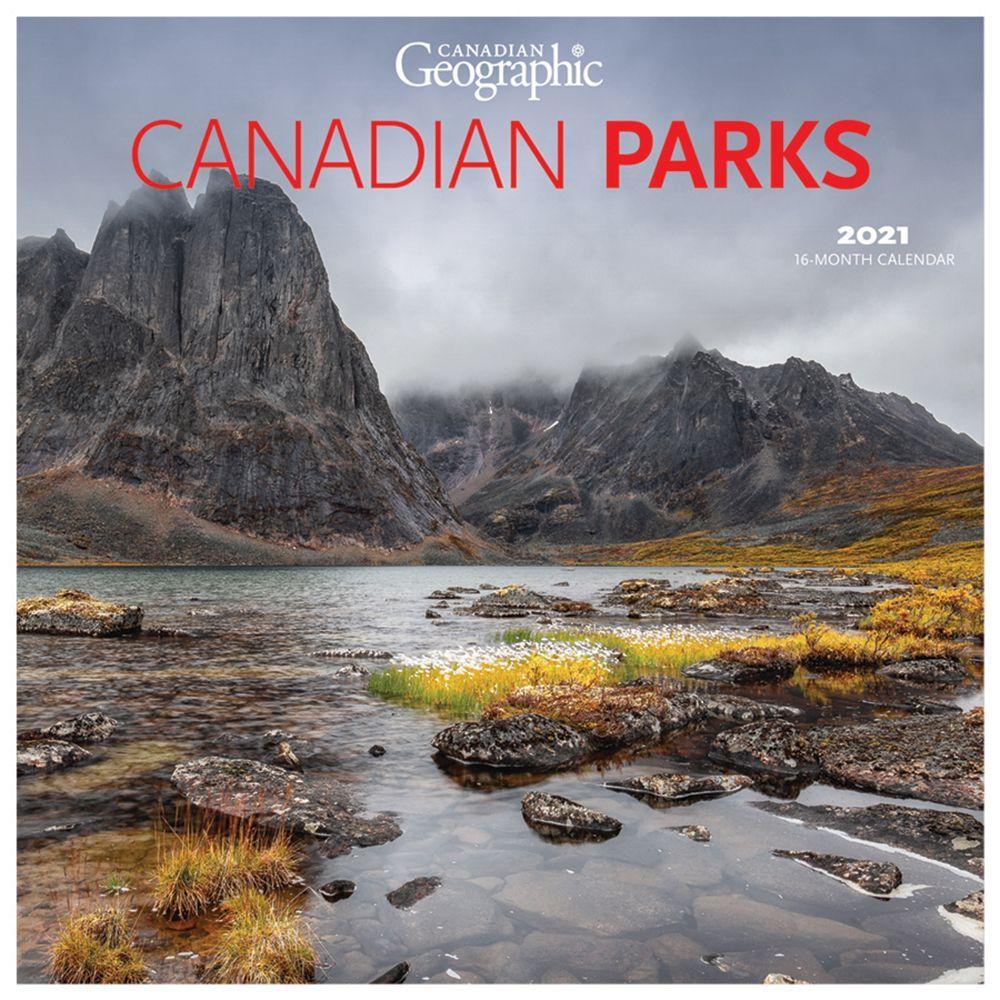 2021 Canadian National Parks Wall Calendar
