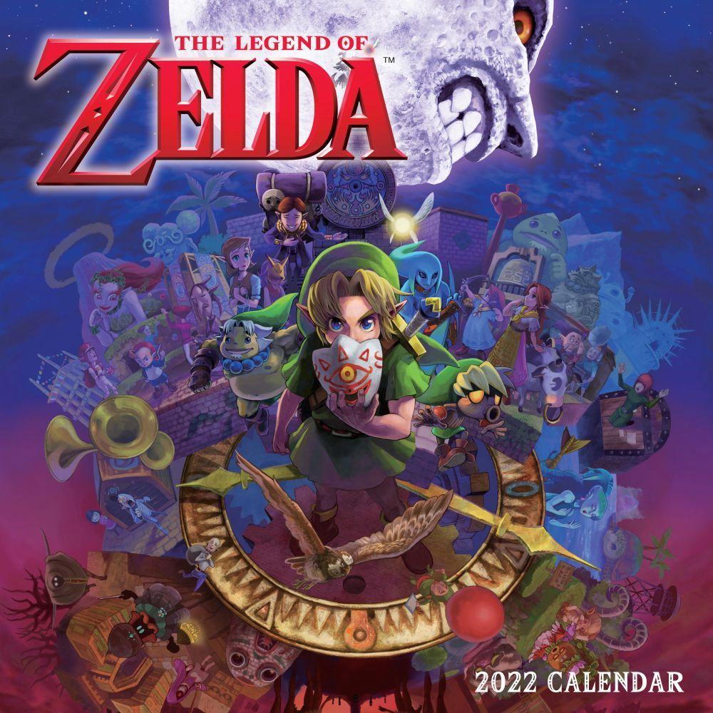 The Official Legend of Zelda 2022 Wall Calendar