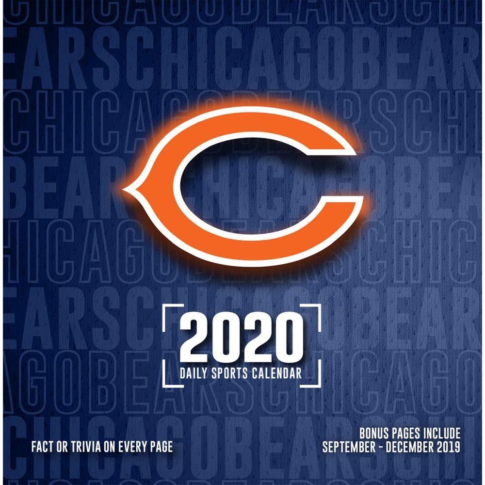 Chicago Bears 2021 Desk Calendar
