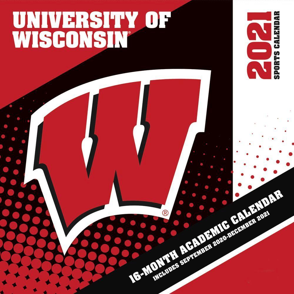 University of Wisconsin Badgers 2021 Wall Calendar