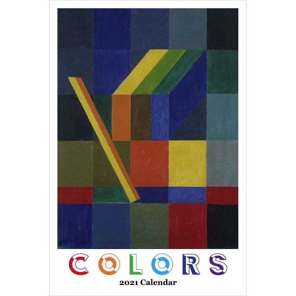 2021 Colors Poster Wall Calendar