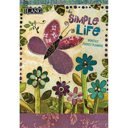 Simple Life Monthly Pocket Planner