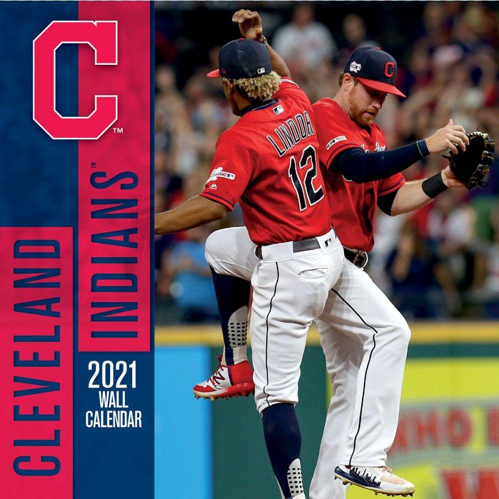 Cleveland Indians 2021 Wall Calendar