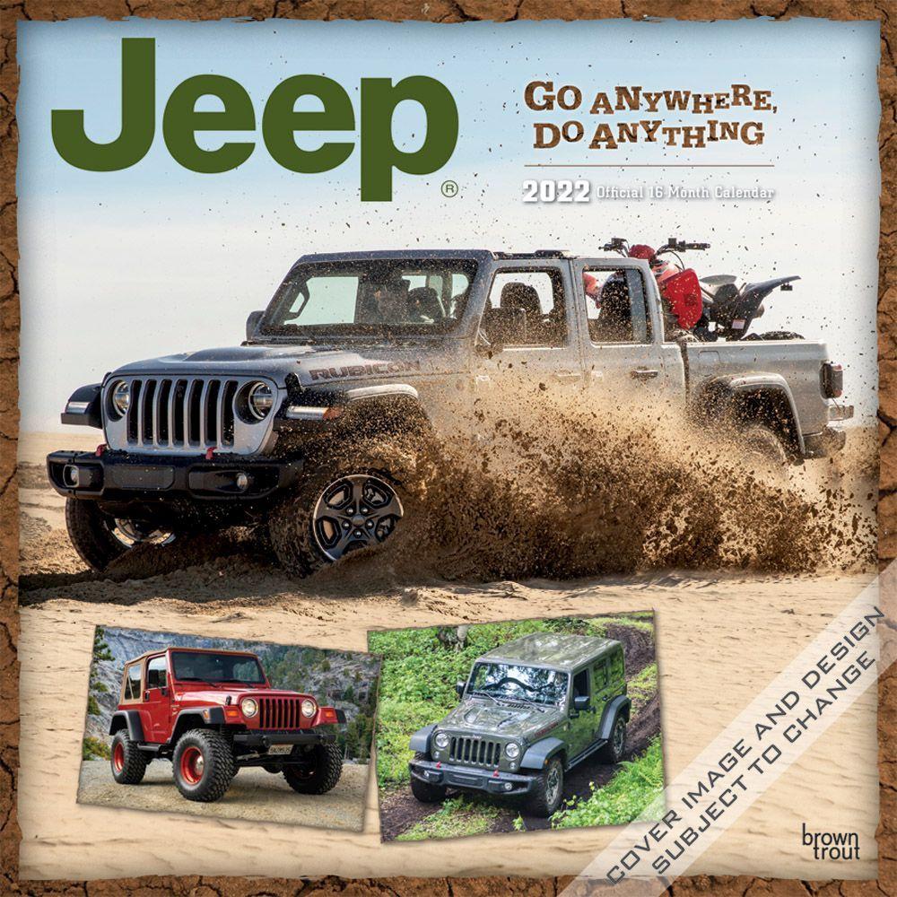 Jeep 2022 Wall Calendar