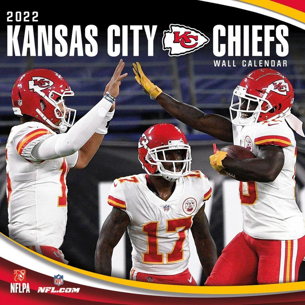 Kansas City Chiefs 2022 Wall Calendar