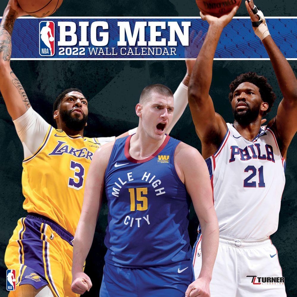 NBA Big Men 2022 Wall Calendar