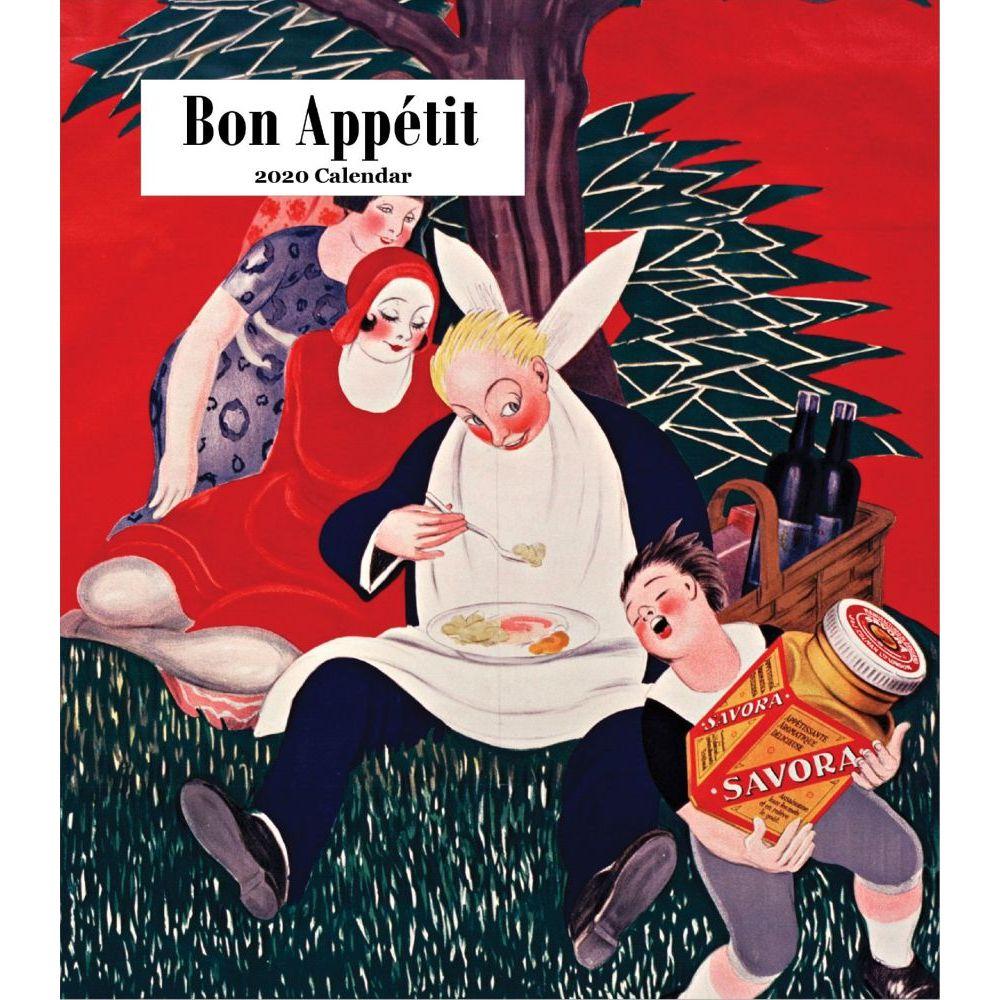 2021 Bon Appetit Easel Calendar
