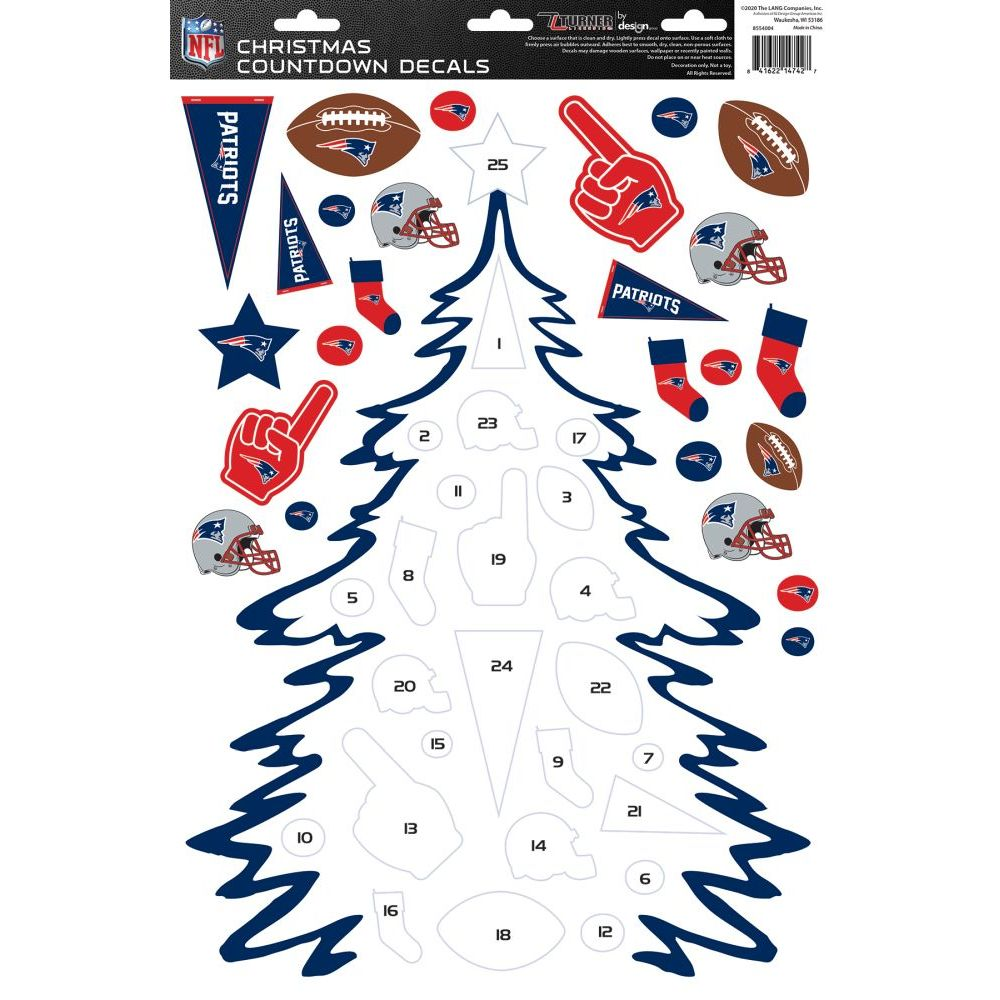 Nfl-New-England-Patriots-Christmas-Countdown