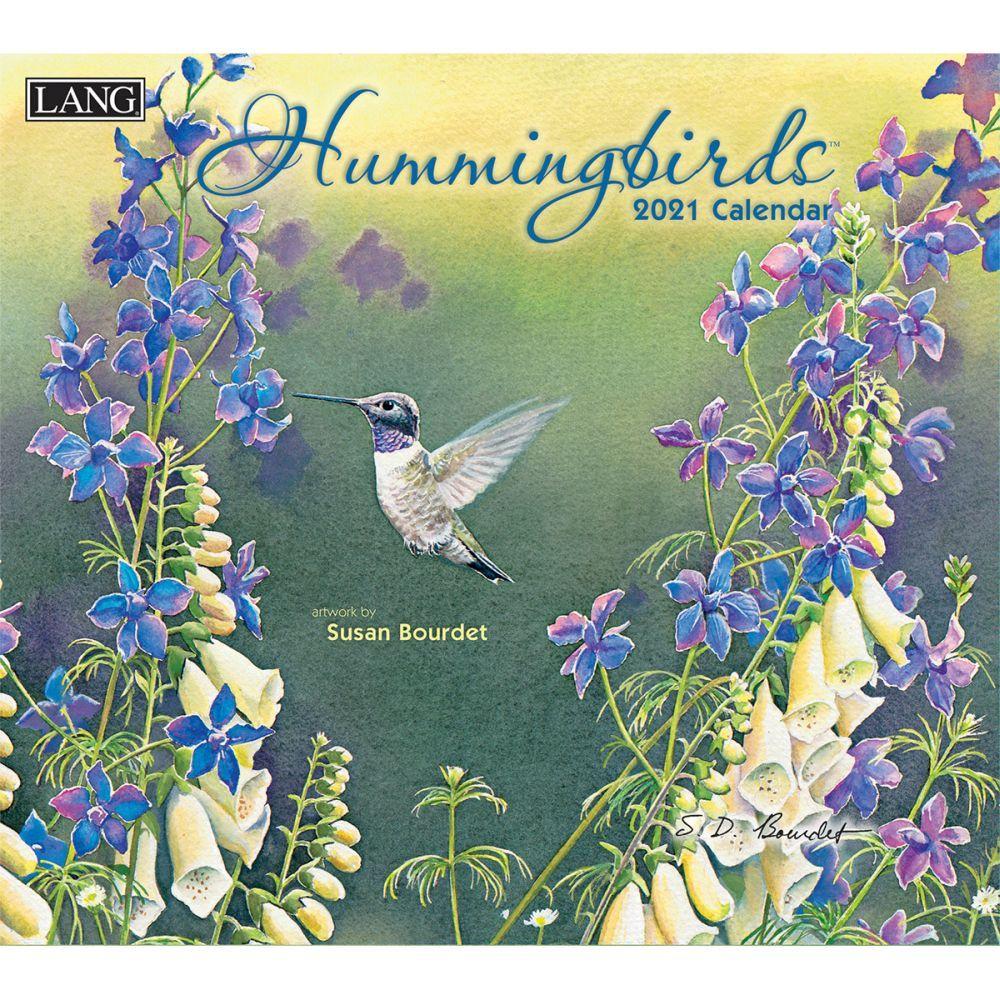 2021 Hummingbirds Wall Calendar by Susan Bourdet
