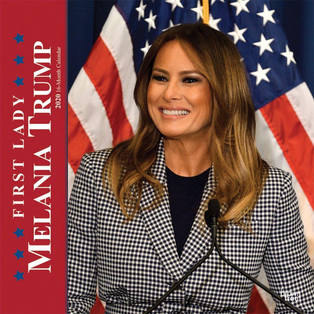 Melania Trump First Lady 2021 Wall Calendar