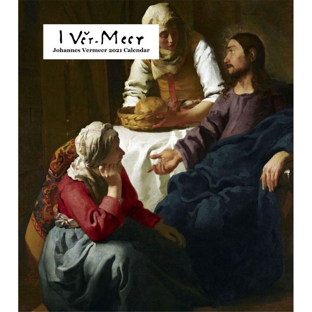 Johannes Vermeer 2021 Easel Calendar