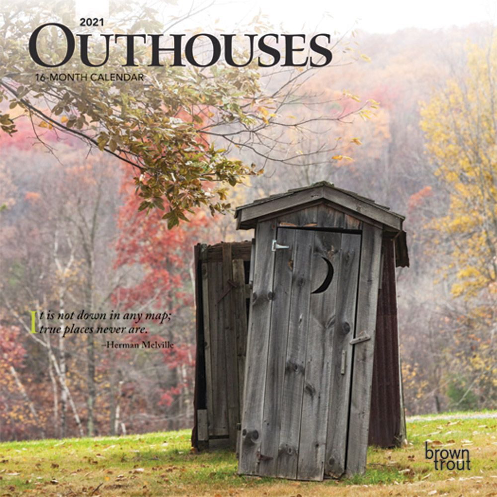 2021 Outhouses Mini Calendar