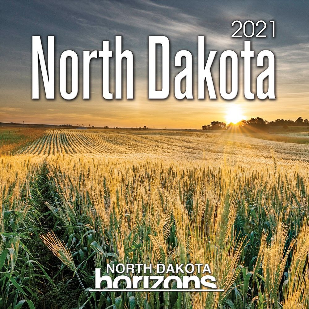 North Dakota Horizons 2021 Wall Calendar