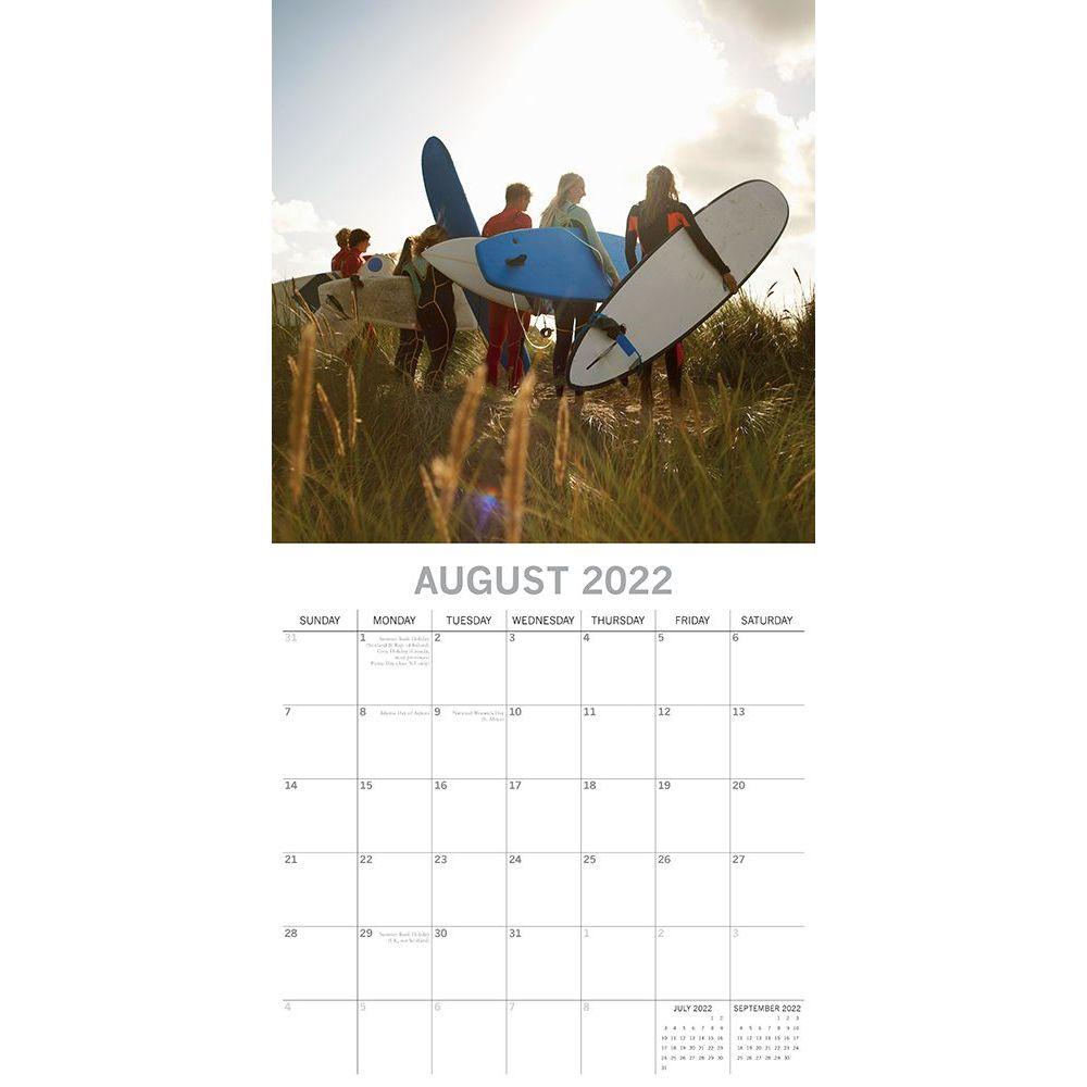 Surf Life 2022 Wall Calendar